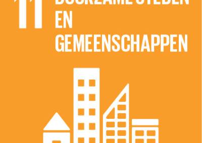11. Duurzame steden en gemeenschappen